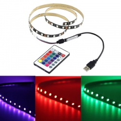 TVbeugelkopen.be - rgb led strip 50cm lang