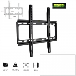 TVbeugelkopen.be - fixed + rotatable TV mount